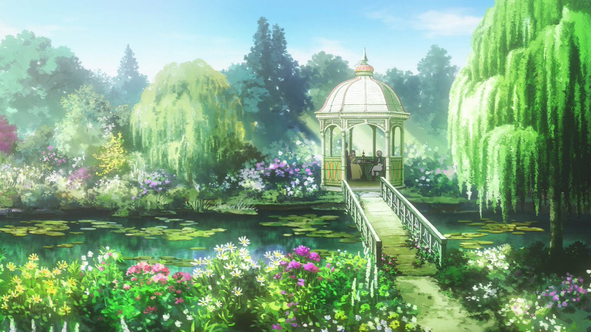 Tada Never Falls In Love Wallpaper Anime Background Art On Twitter Quot Violet Evergarden Dir
