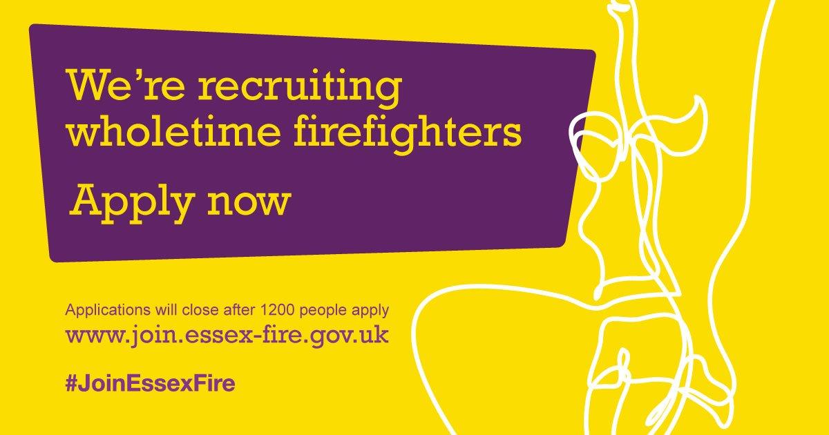 Essex Fire Service on Twitter \ - fire service application form