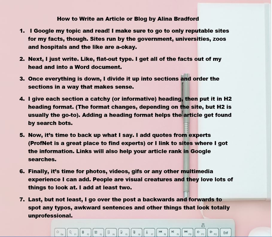 Alina Bradford 📝⌨ on Twitter \