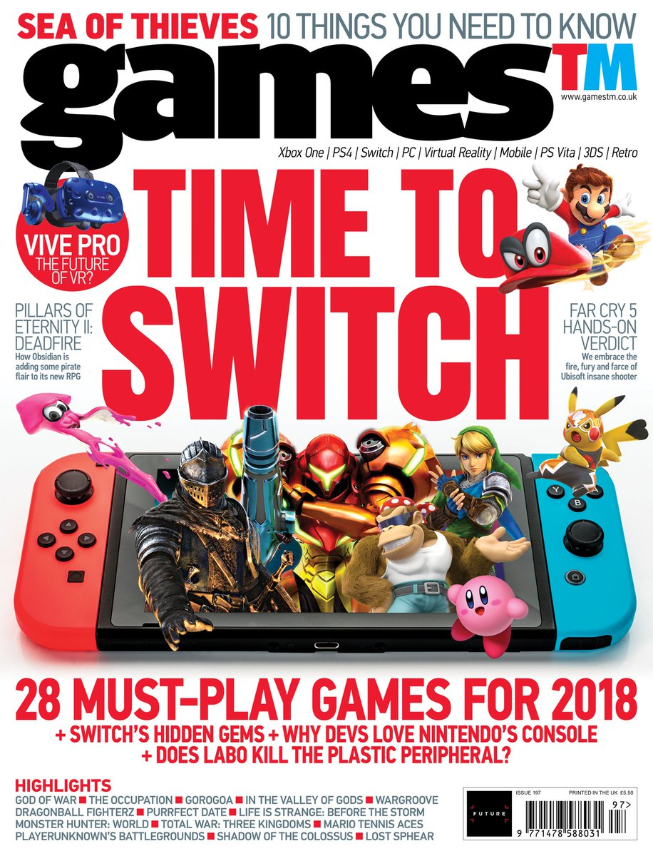 Console Magazine Gamestm Magazine On Twitter