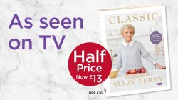 Gray Her New Follow To Whsmith On Recipes This New Collection Lie At Giving Away A Just Rt National Treasure Mary Berry Is Back