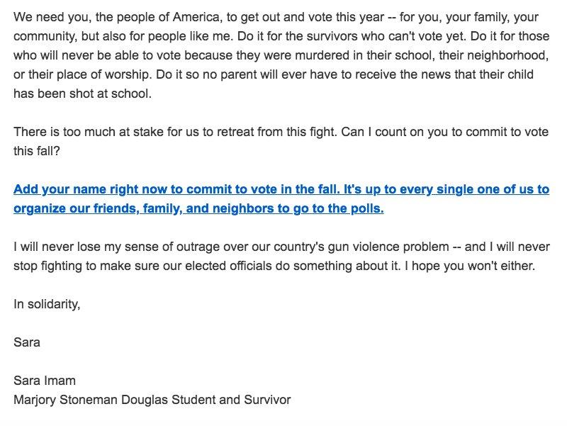 Parkland survivor already writing DNC fundraising letters \u2013 Pacific