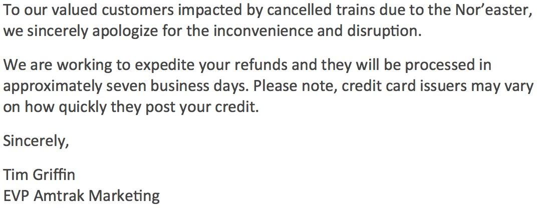 Amtrak on Twitter \
