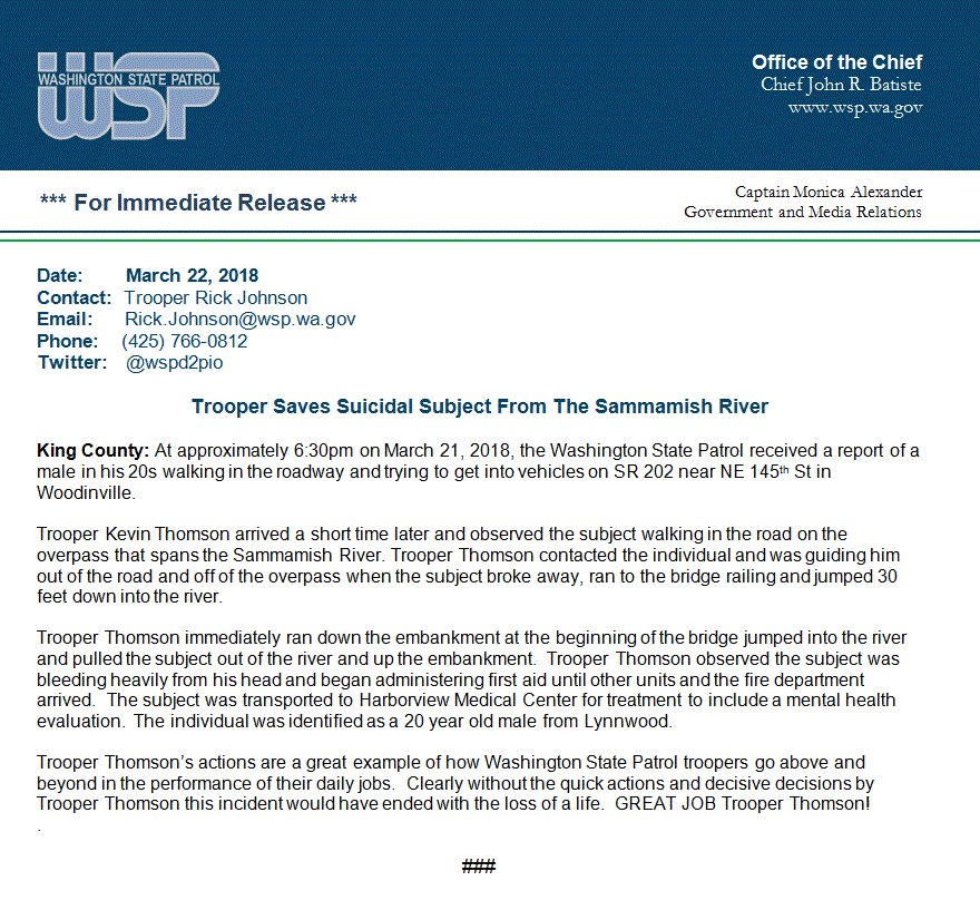 washington state patrol incident report - Minimfagency - what is an daily incident reports