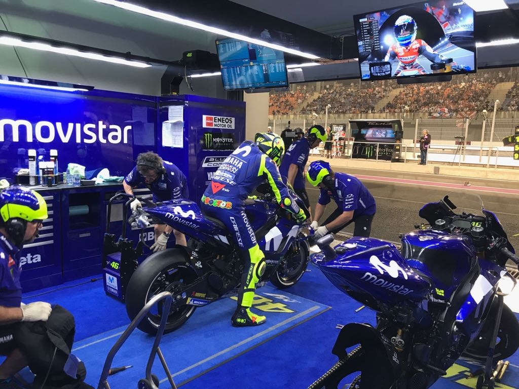 Garage Yamaha Monster Energy Yamaha Motogp On Twitter