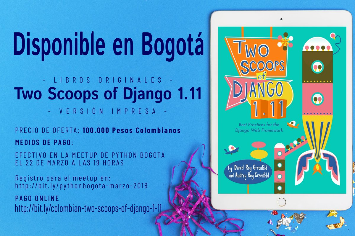 Libros Python Español Two Scoops Press Twoscoopspress Twitter