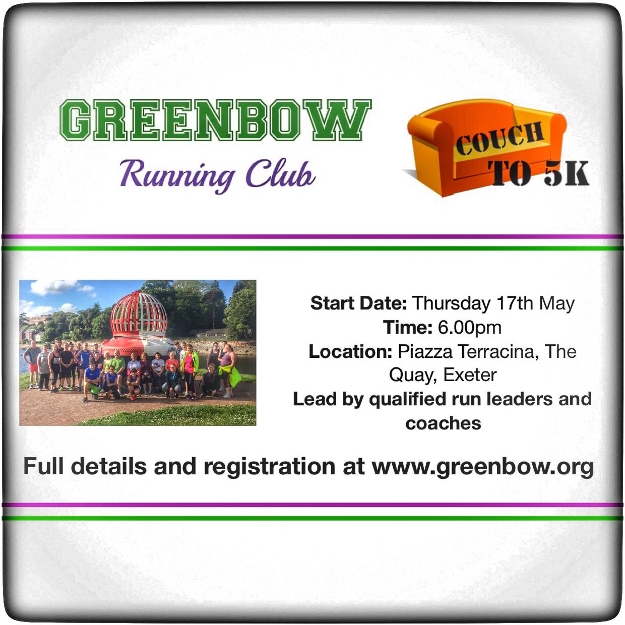 Couch To 5k Exeter Greenbow Runningclub On Twitter