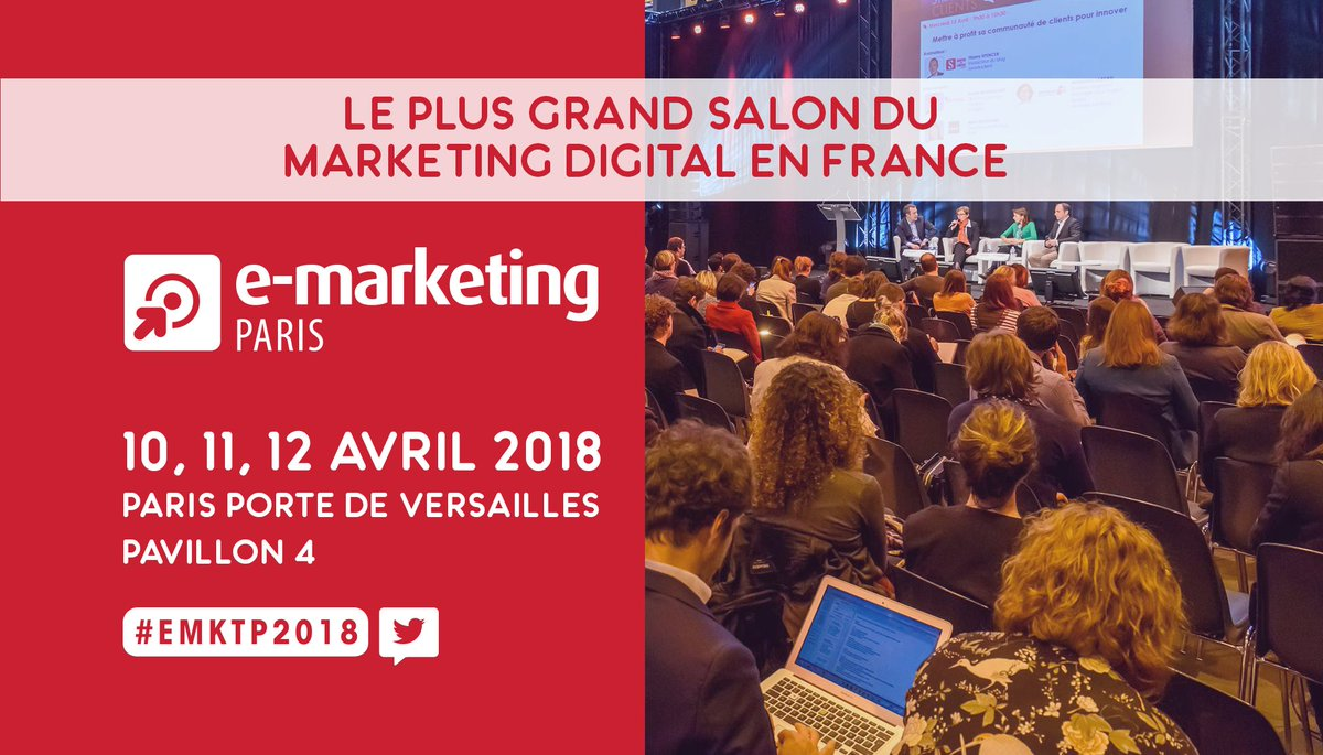 E Marketing Salon E Marketing Paris On Twitter