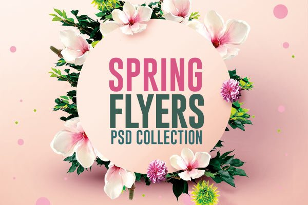 Creative Flyers on Twitter \ - spring flyer template