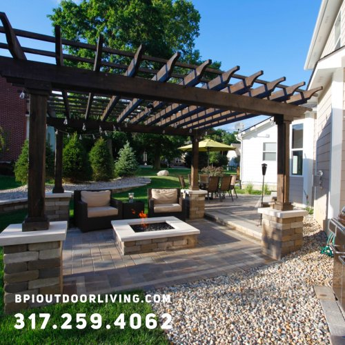 Medium Of Backyard Outdoor Living