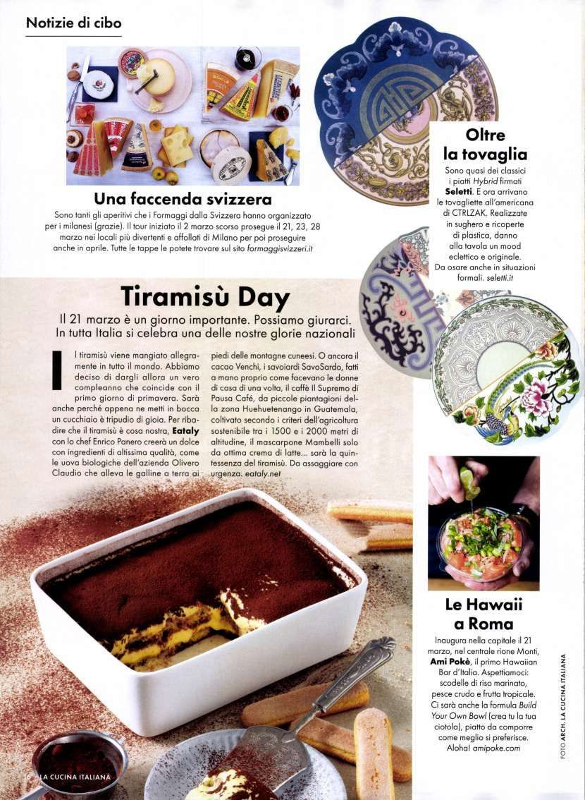 The Magazine Of La Cucina Italiana Ctrlzak Studio On Twitter