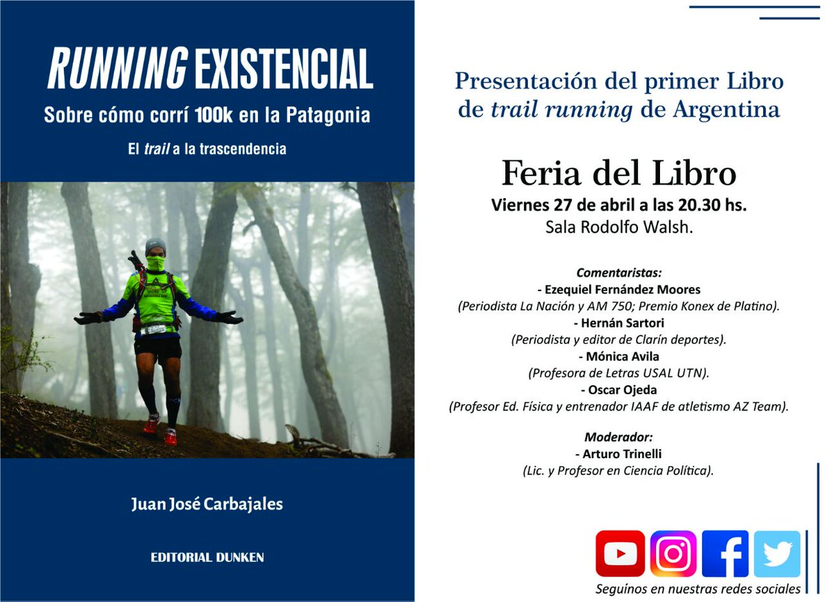 Libros Sobre Running Patagonia Run Mhw On Twitter