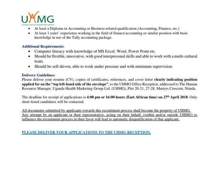 UHMG on Twitter \ - Office Intern Job Description