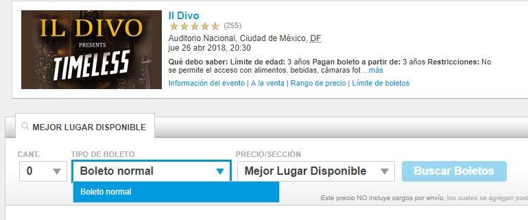 Ticketmaster México on Twitter \ - como hacer boletos para un evento