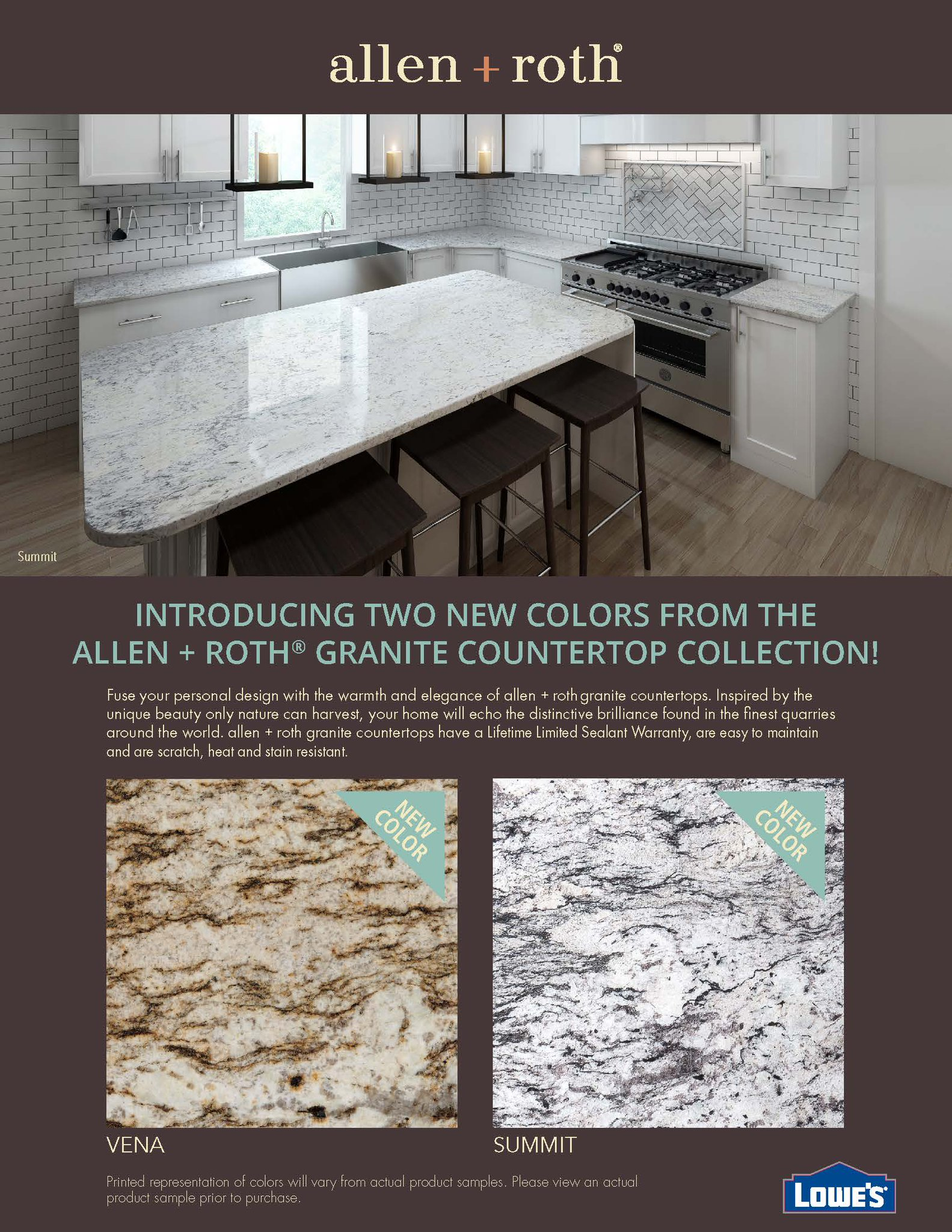 Allen And Roth Countertops Sage Surfaces On Twitter Quotintroducing 2 New Colors From