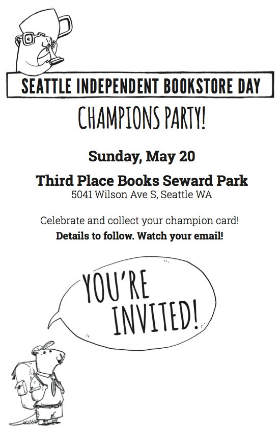 SeattleBookstoreDay on Twitter \