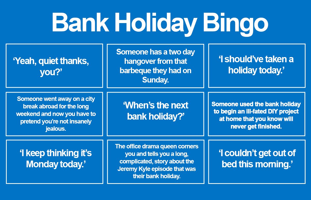 Diy Bank Holiday Offers S1jobs On Twitter
