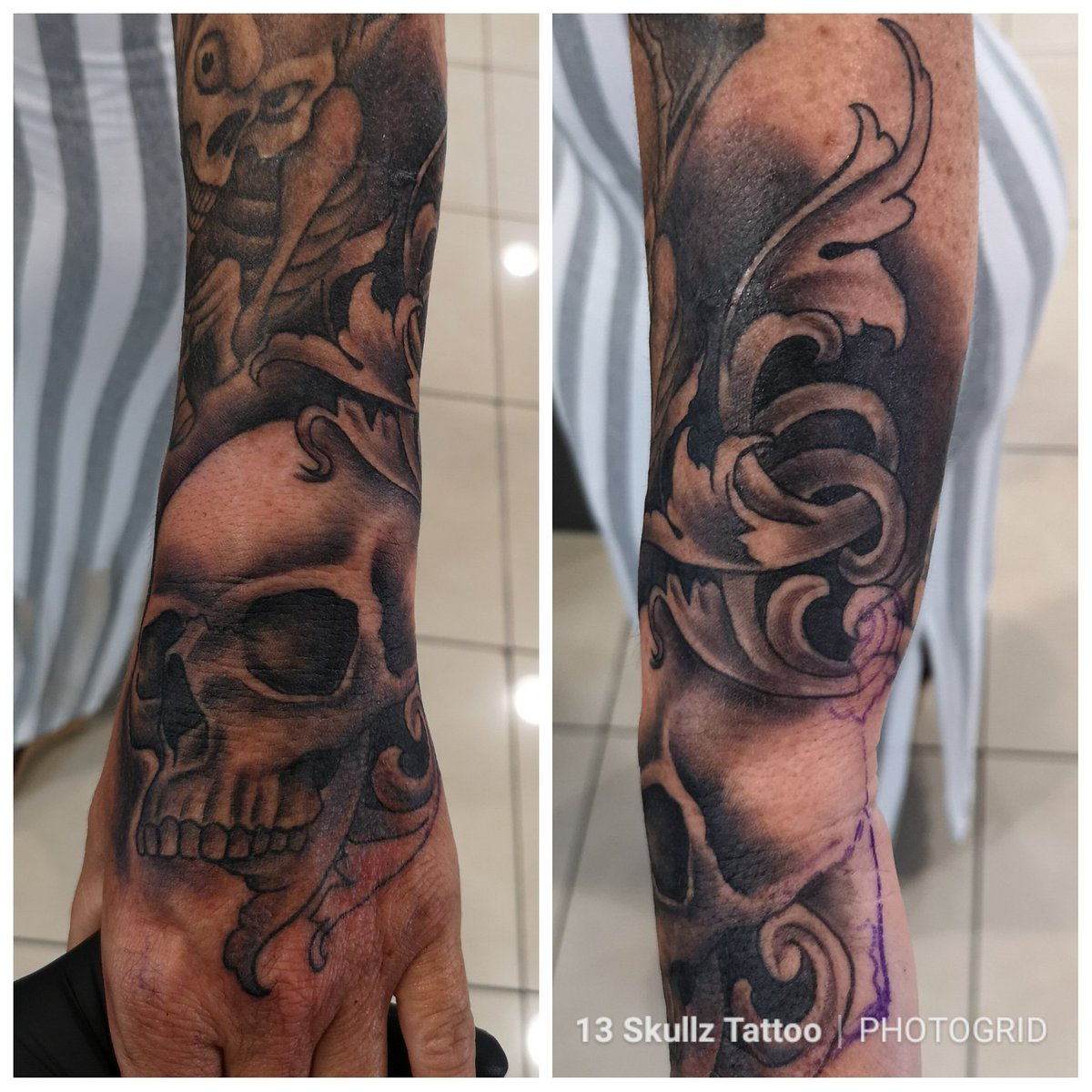 Tatoo Mannheim 13 Skullz Tattoo On Twitter