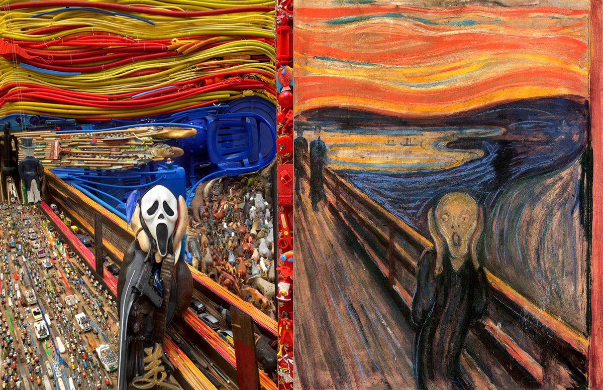 Munch Cuadros Elboscomovie On Twitter