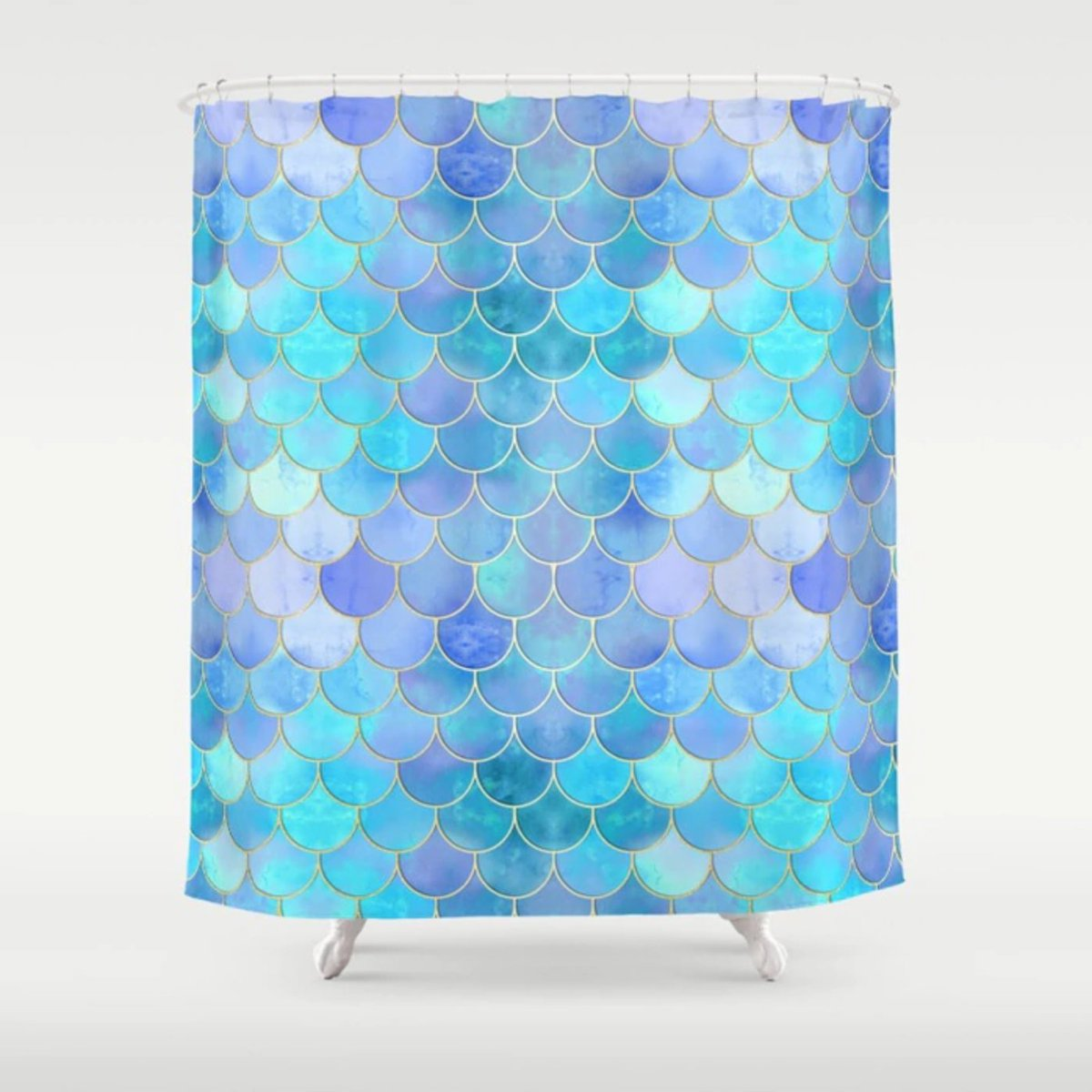 Mermaid Scale Shower Curtain Tanya Legere On Twitter