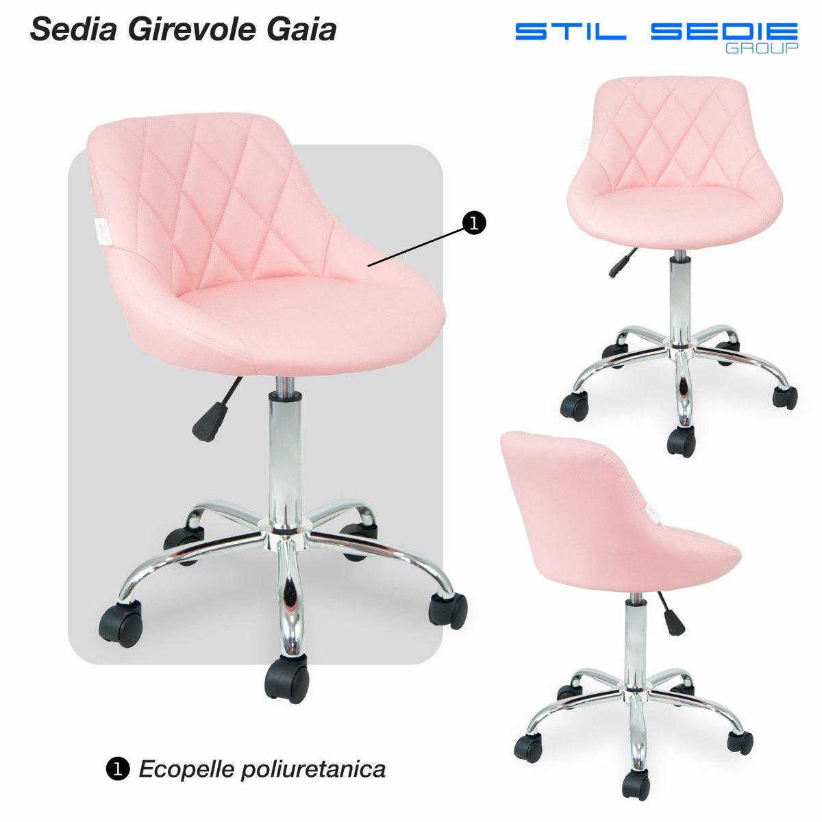 Sedia Girevole English Stil Sedie Group Stilsedie Twitter