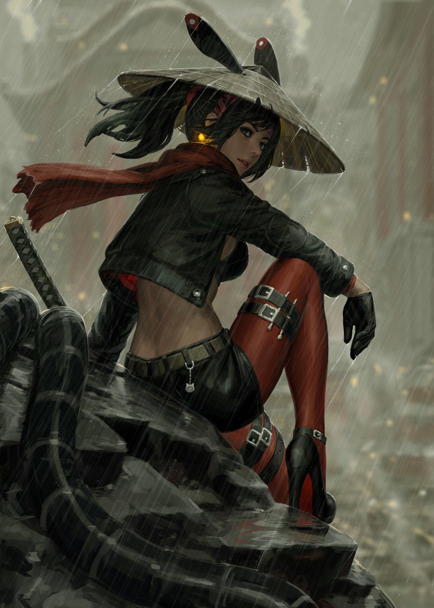 Japanese Samurai Girl Wallpaper Guweiz On Twitter Quot Shinobi