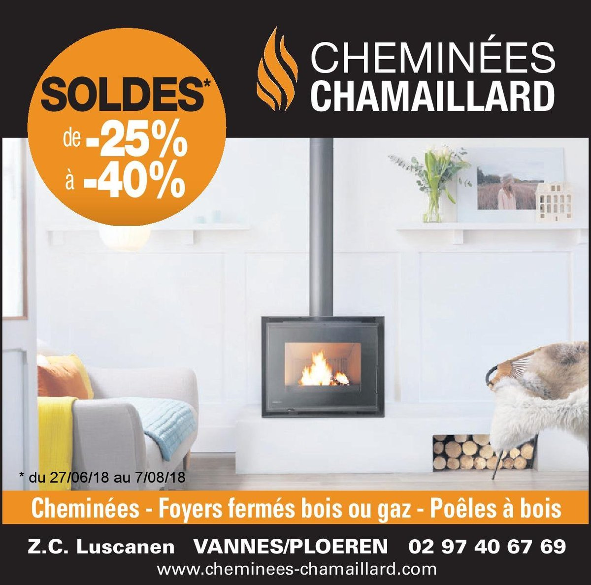 Cheminees Gaudin 69 Soldes Cheminees