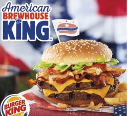 Hairy Consumers Ages Can Now Get A Which Hs Burger American Brewhouse Sandwich Darren Rovell On Burger King Twitter Budweiser Burger King Twitter Wassup A Can