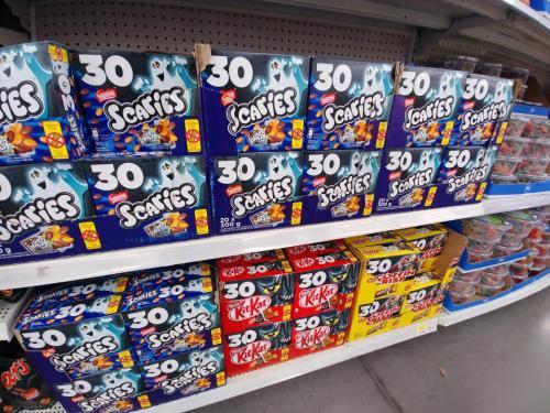 Staggering Pm Jul 2018 From Walmart Kim Johnston On To Alarm But Halloween Walmart Halloween Candy Sale 2018 Walmart Halloween Candy Sale Midnight 2018