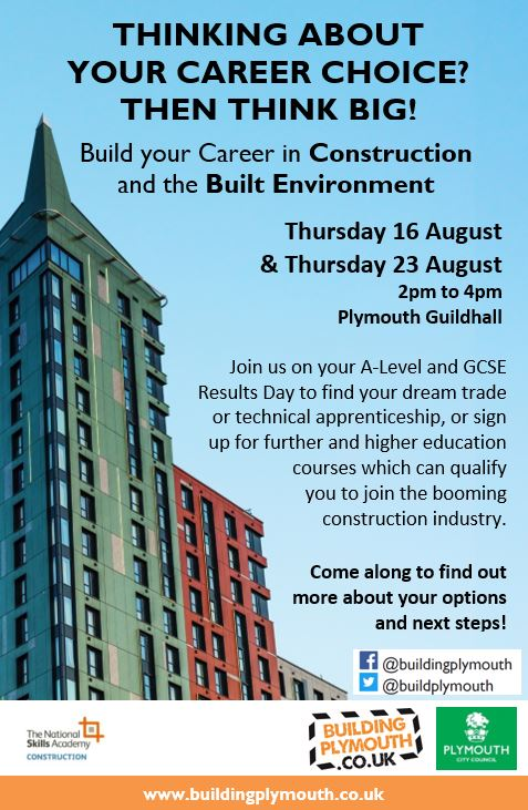 Building Plymouth on Twitter \ - building your career
