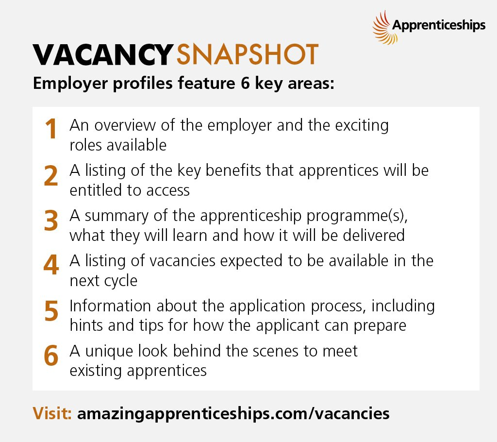 Apprenticeship Job Amazing Apprenticeships On Twitter