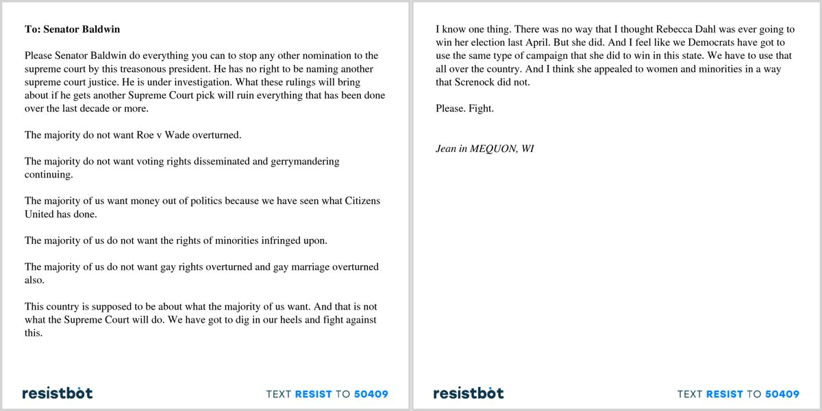 Resistbot Open Letters on Twitter \