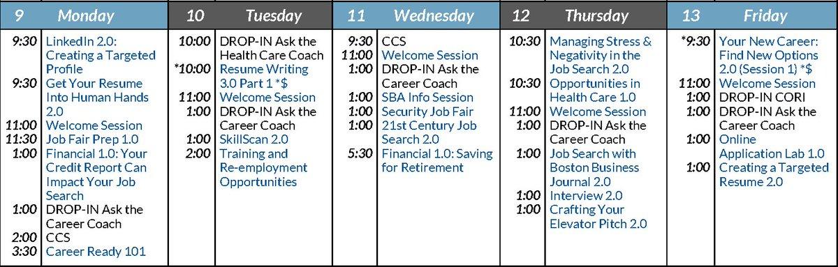 JVS CareerSolution (@_CareerSolution) Twitter - 9 sample job fair reports