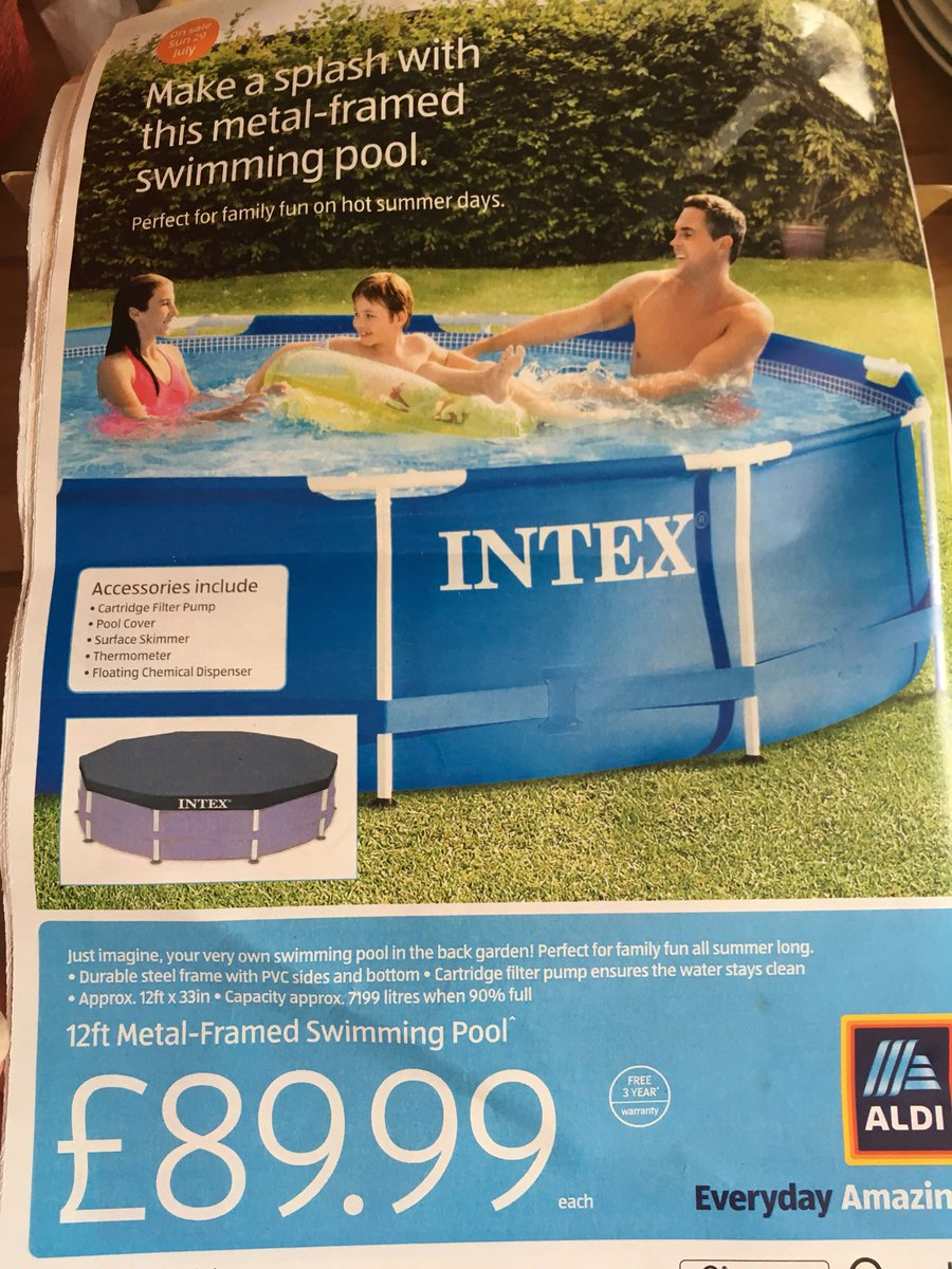 Aldi Intex Pool Dame Jess R Monty On Twitter
