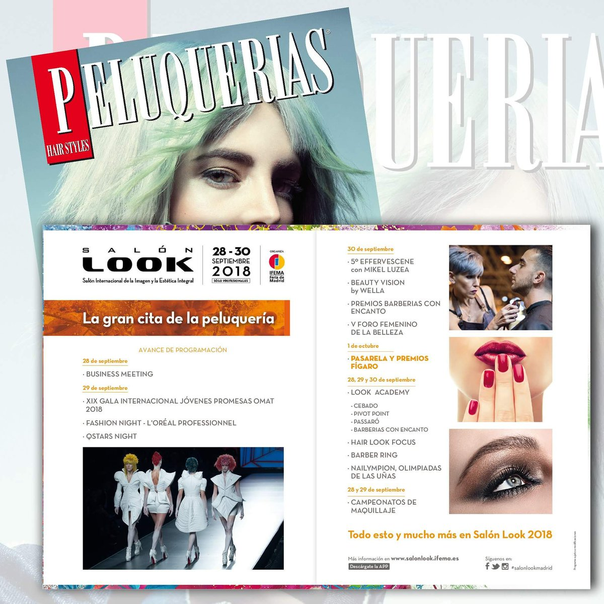 Salon Look Ifema Revista Peluquerias On Twitter