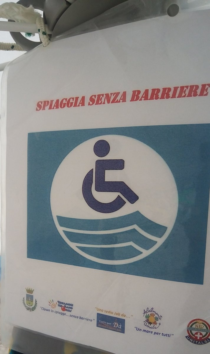 Job Sedia Da Mare Spiaggesenzabarriere Hashtag On Twitter