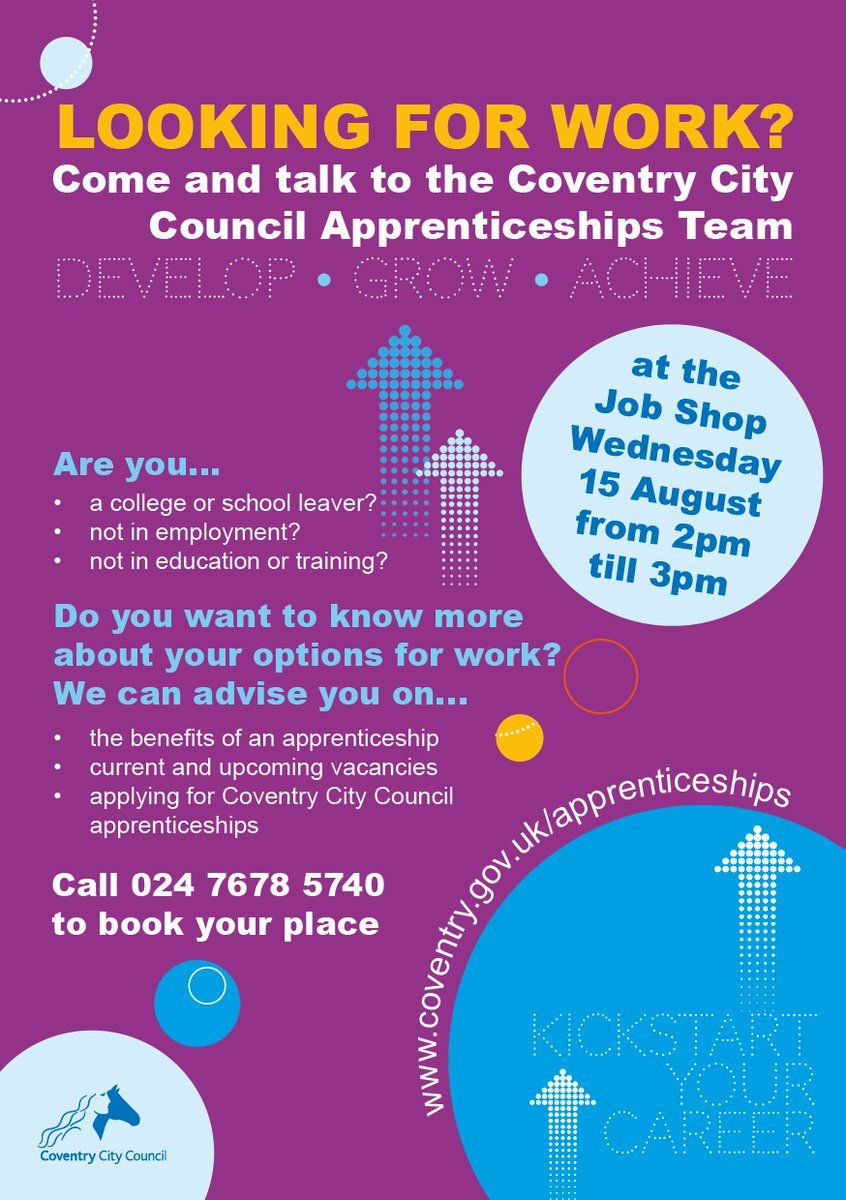 Apprenticeship Job Coventry Job Support On Twitter
