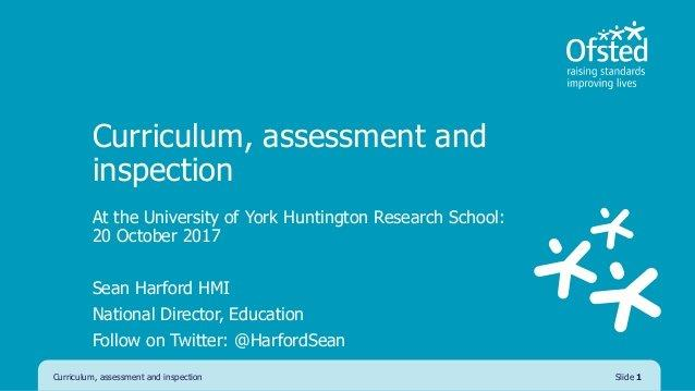 Ofsted on Twitter \