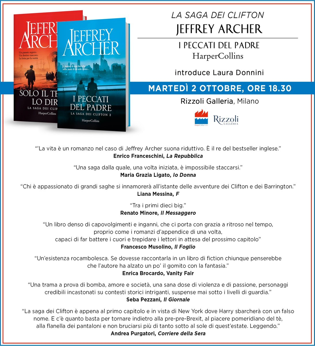 Jeffrey Archer Libros Jeffrey Archer On Twitter
