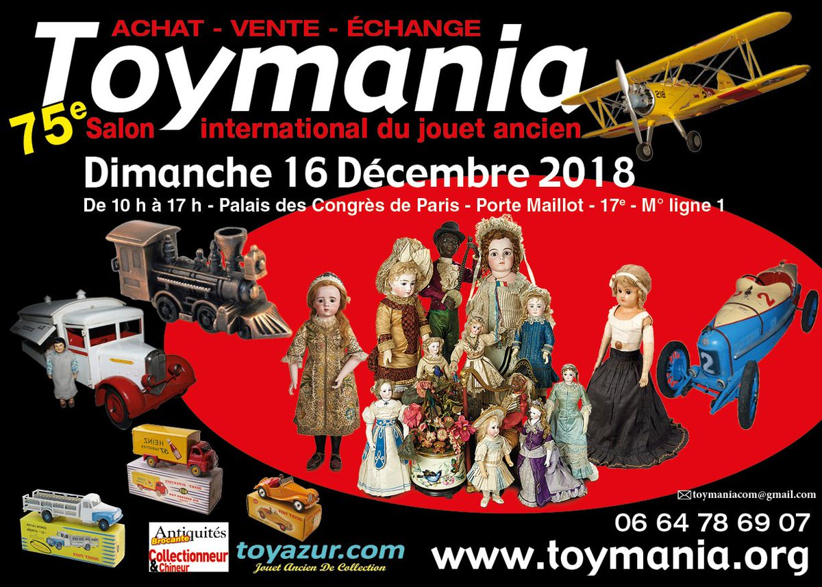 Salon Du Jouet Paris Salon Toymania Salon Toymania Twitter