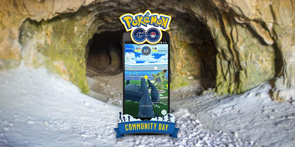 Meteor Mash Announced as Metagross Community Day Exclusive Move