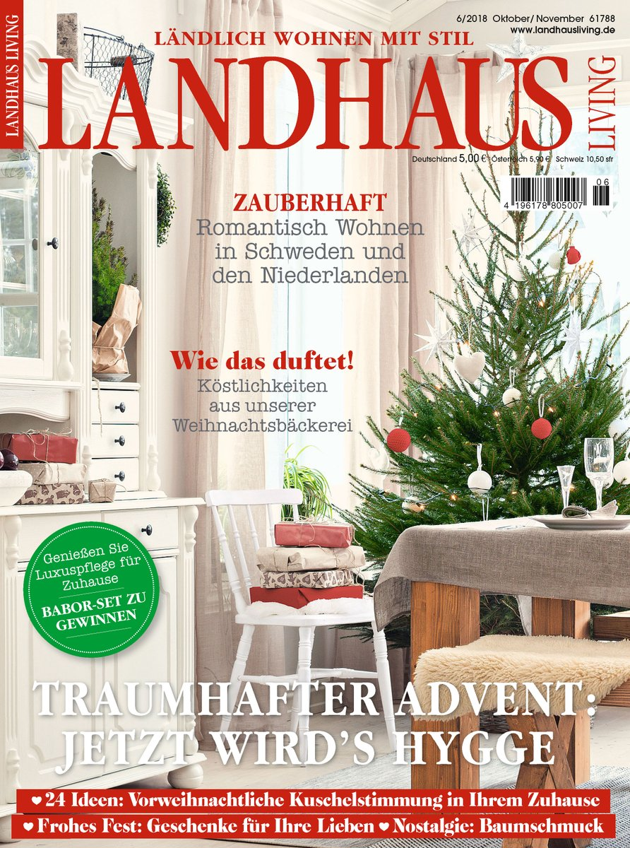 Landhaus Magazin Annie Sloan Press On Twitter