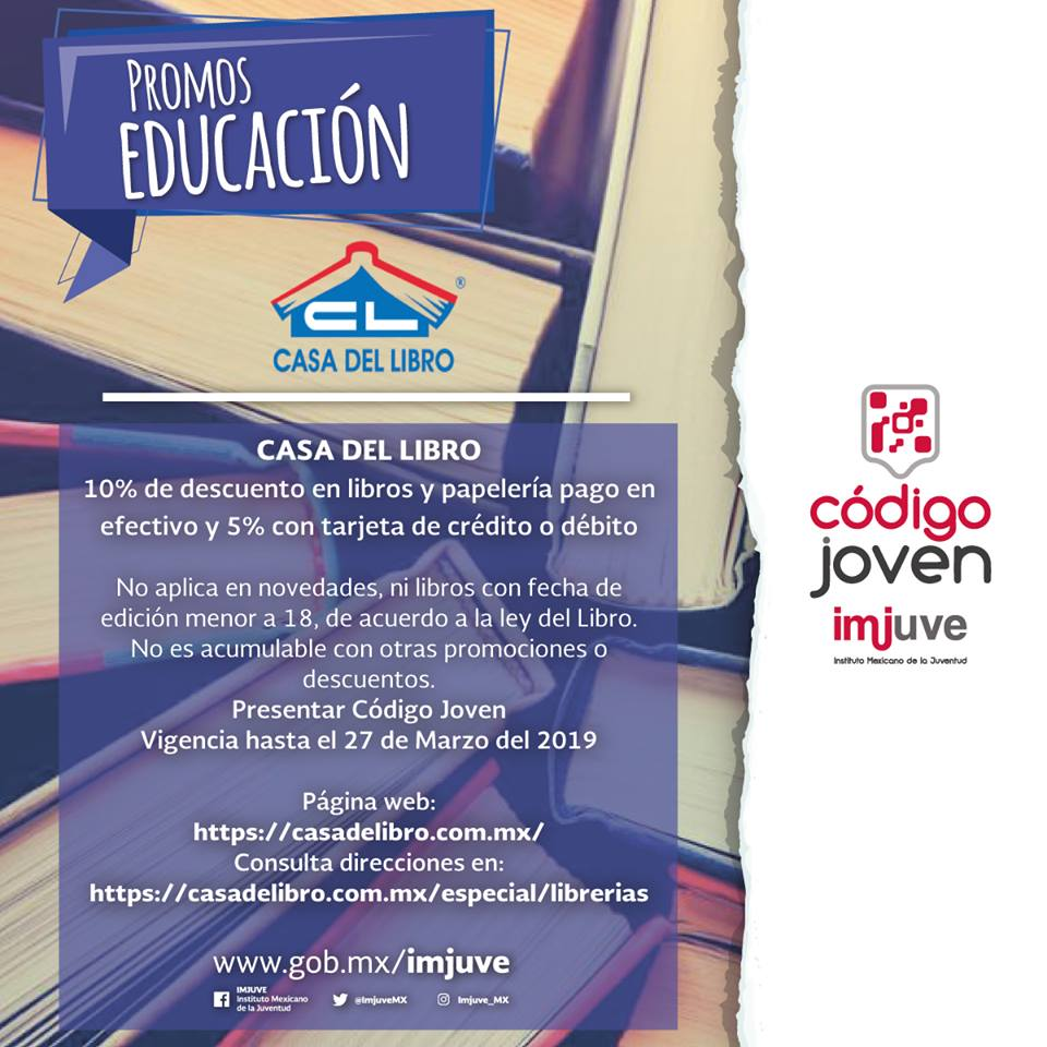 Descuentos La Casa Del Libro Codigojoven Tagged Tweets And Download Twitter Mp4 Videos Twitur