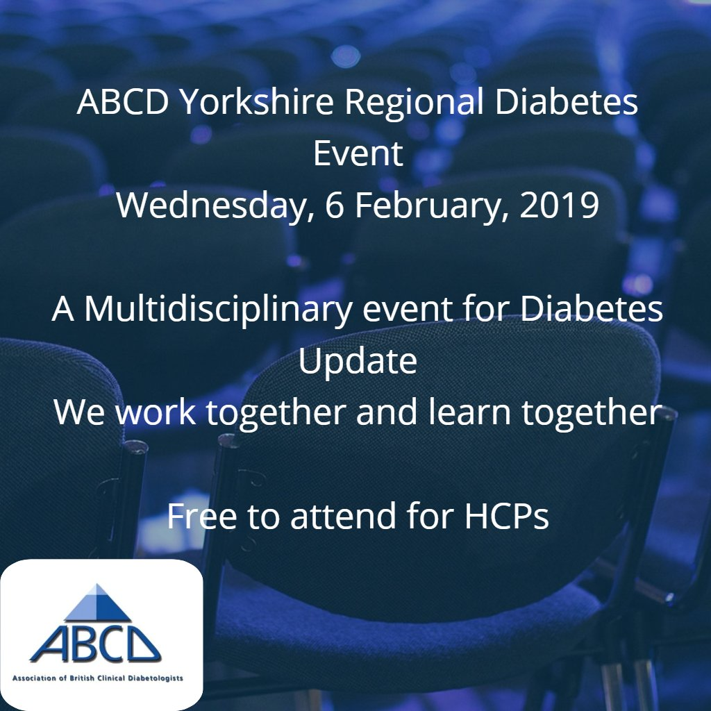 Wednesday 6 February 2019 Abcd Diabetes On Twitter