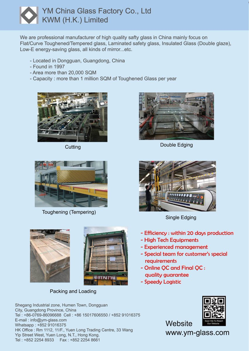 Glass Factory Manufacturer Ym China Glass Factory Co Ltd On Twitter