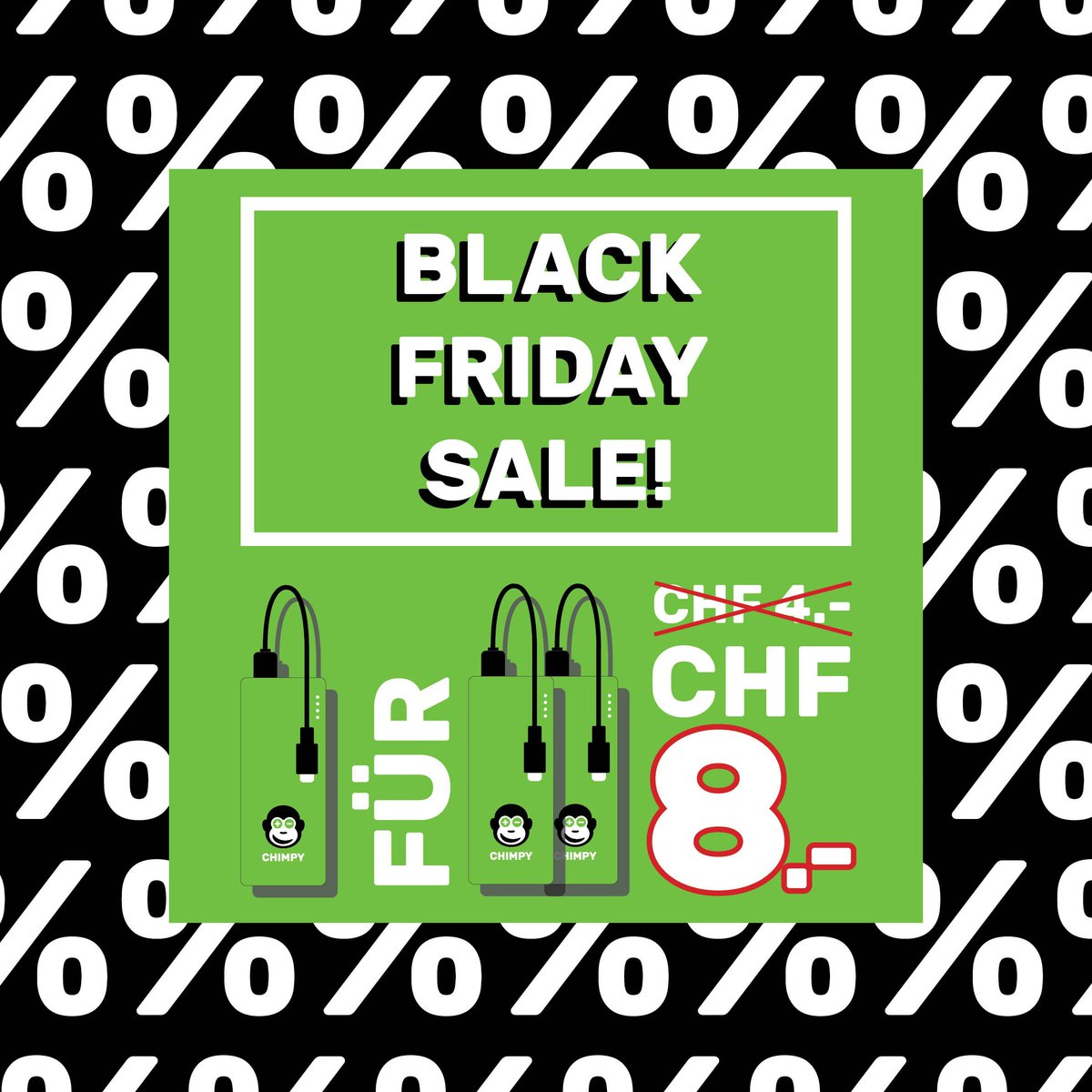 Black Friday Angebot Chimpy On Twitter