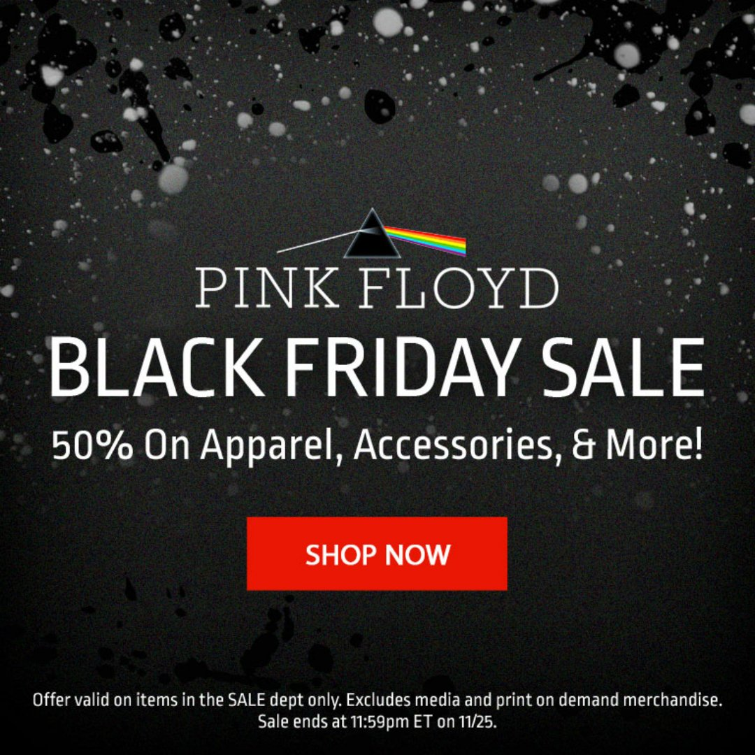 Black Friday Sale Pink Floyd On Twitter