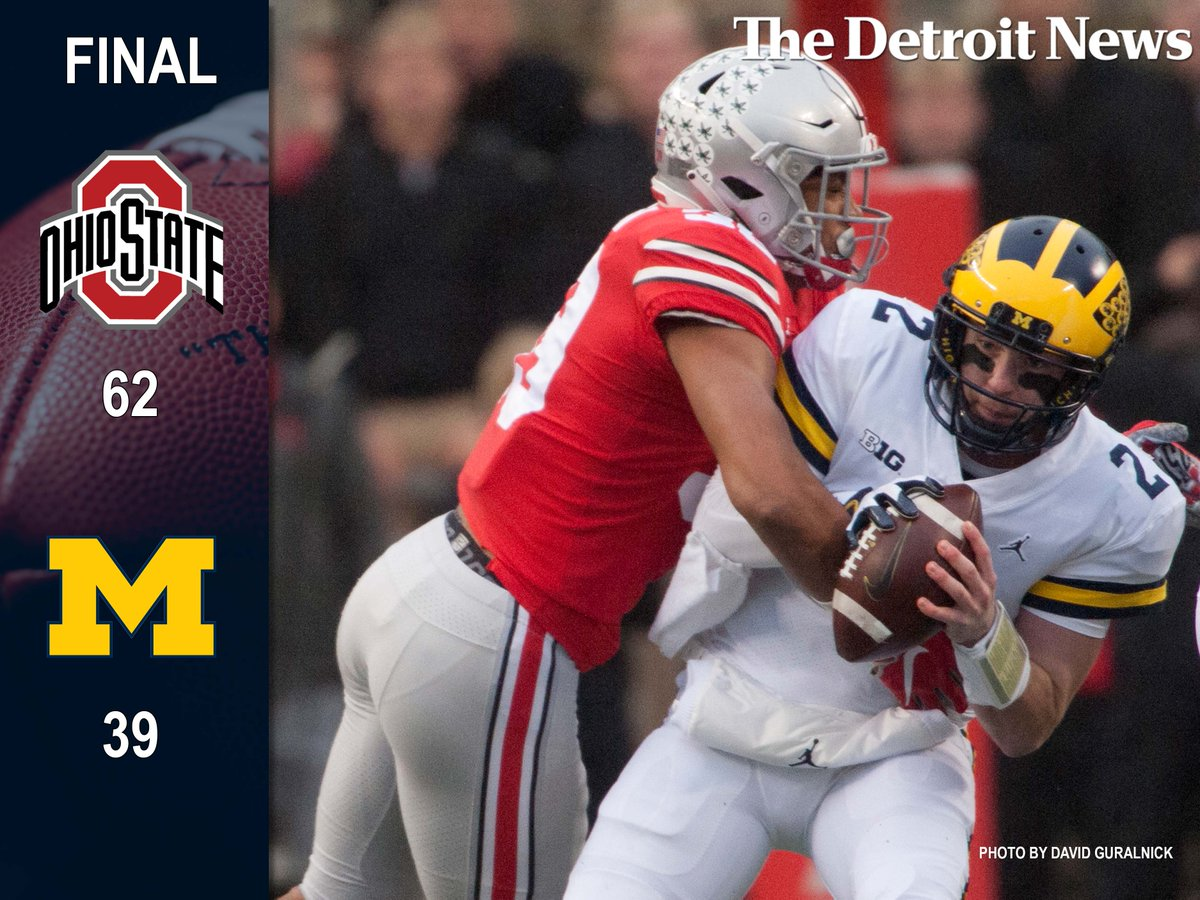 Ohio State Score The Detroit News On Twitter