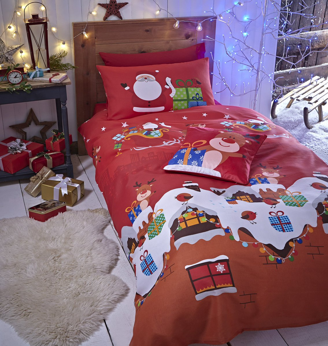 Catherine Lansfield Christmas Bedding Kidsbedding Hashtag On Twitter