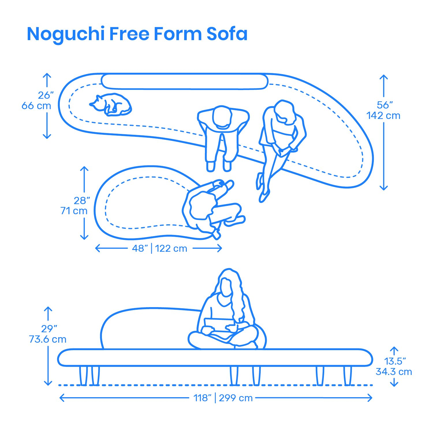 "Organic Sofa Dwg Dimensions.guide On Twitter: ""furniture: The Noguchi Free"